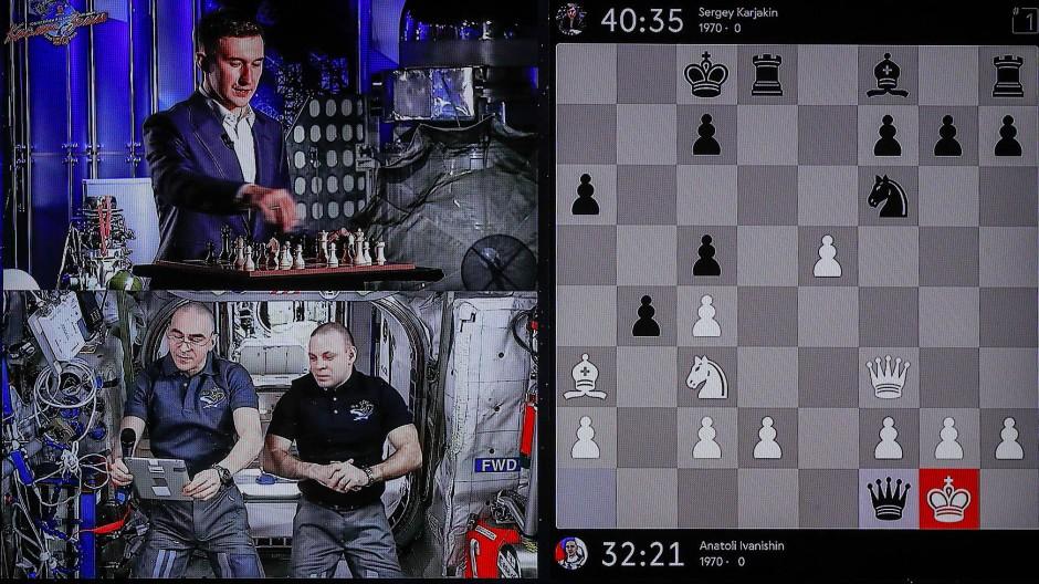 Schach im Weltall