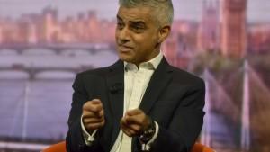 Londons Bürgermeister fordert neues Brexit-Referendum