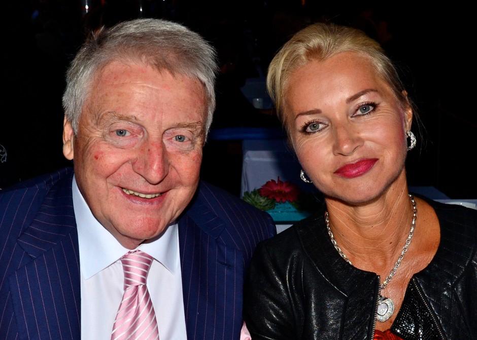 Das Unternehmerpaar Egon und Edith Geerkens