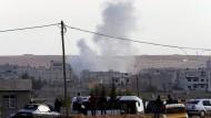 Kobanes Bewohner  flehen um mehr Unterstützung