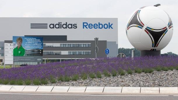 Adidas trotzt der Eurokrise