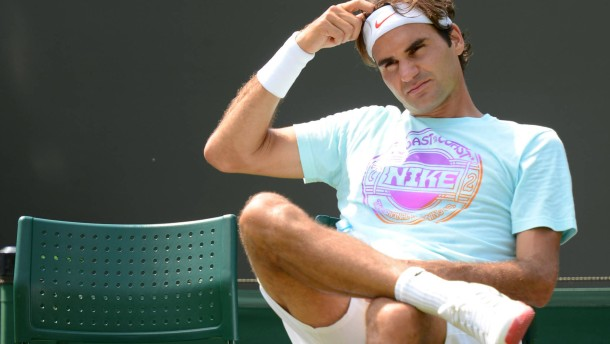 Federers Hoheitsgebiet