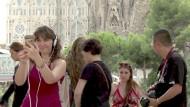 Touristen in Barcelona trotzen dem Terror