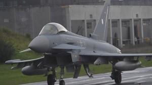 """Nur vier """"Eurofighter"""" der Bundeswehr sind einsatzfähig"""