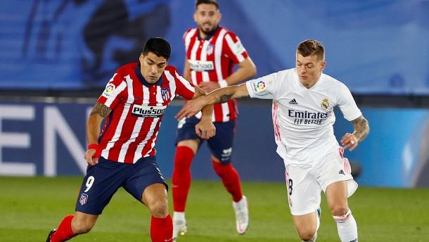 Real Madrid siegt im Derby gegen Stadtrivalen Atletico