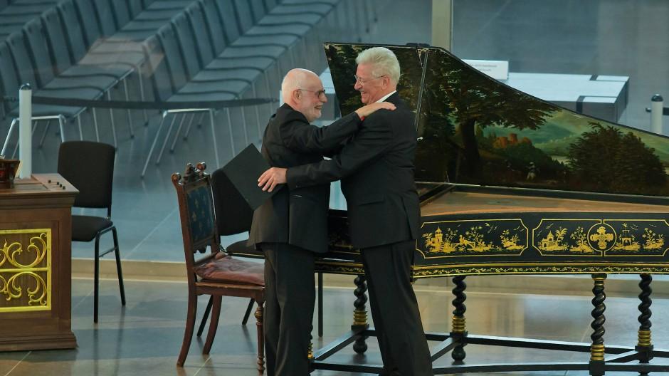 Mehr als Kollegen: Ton Koopman (links) und Klaus Mertens machen seit 40 Jahren zusammen Musik.