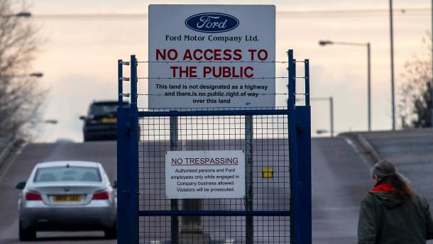 Ford droht May mit Produktionsabzug aus Großbritannien