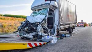 Bespuckt und beschimpft nach Unfall auf Autobahn