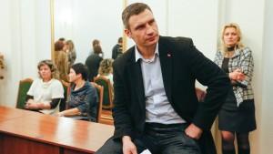 Klitschko fordert EU-Sanktionen