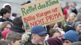 Klimaschutz ins Grundgesetz?
