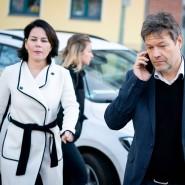 Annalena Baerbock und Robert Habeck im Januar in Berlin