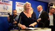 Politisches Erdbeben in Frankreich