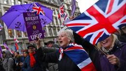 Brexit- Rückzug rechtlich möglich