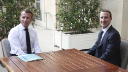 Wie Macron und Facebook das Internet retten wollen