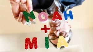 Mia und Noah sind beliebteste Vornamen 2020