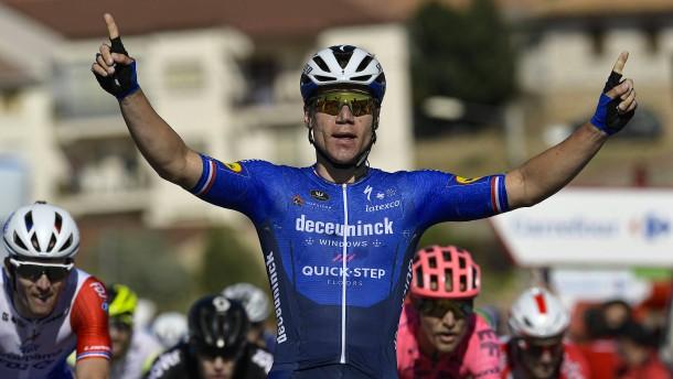 Sprinter Jakobsen gewinnt Vuelta-Etappe