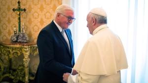 Papst: Deutschland soll sich nicht abwenden