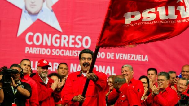 Nordamerikaner fordern Maduro zum Nachgeben auf