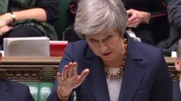 Unterhaus verpasst May vor Brexit-Debatte Ohrfeige