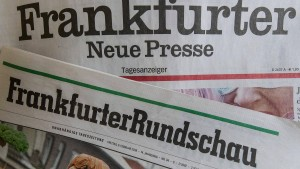 Fazit-Stiftung verkauft Frankfurter Rundschau und Frankfurter Neue Presse
