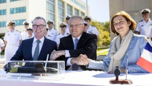 Australien bestellt französische U-Boote für 30 Milliarden Euro