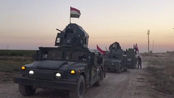 Trump: Bleiben im Irak-Konflikt neutral