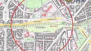 Blindgänger legt Verkehr in Berlin lahm