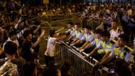Polizei warnt Protestler vor ernsten Konsequenzen