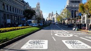 Madrid verbannt Autoverkehr aus der Innenstadt