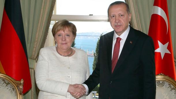 Bundeskanzlerin Merkel zu Gast bei Erdogan