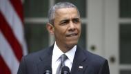 Stoßseufzer aus dem Weißen Haus