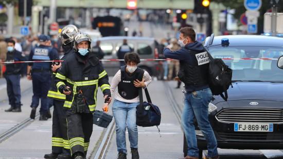 Drei Tote nach Messerangriff in Nizza