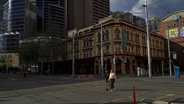 Behörden verhängen zweiwöchigen Lockdown über Sydney