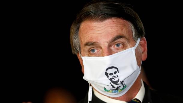 Bolsonaro zeigt Corona-Symptome