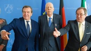 Werner Müller erhält Verdienstorden von Nordrhein-Westfalen