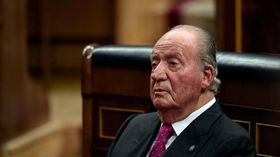 Spaniens ehemaliger König Juan Carlos
