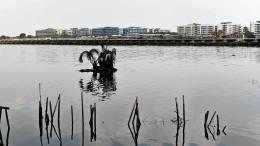 Millionenstadt versinkt im Meer