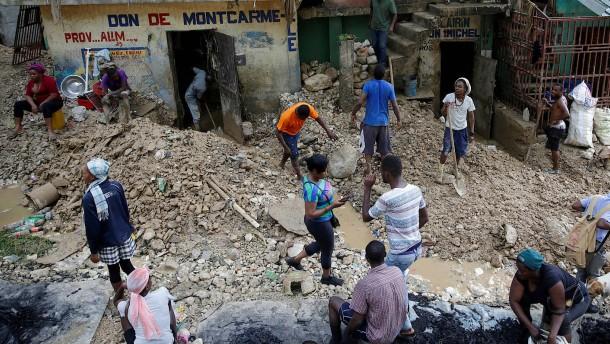 "Tropensturm ""Laura"" wütet in Haiti"