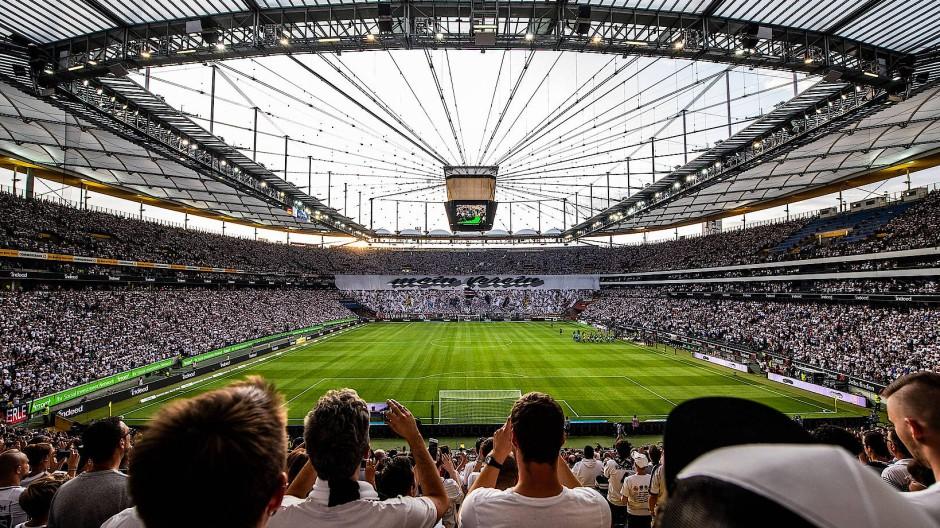 Ein Viertel, ein Drittel? Wie voll das Waldstadion werden darf, wenn wieder Zuschauer erlaubt sind, ist derzeit noch unklar.