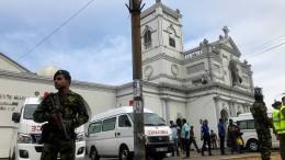 Mehr als 100 Tote bei Anschlägen in Kirchen und Hotels
