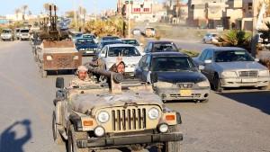 Uneins über Libyen