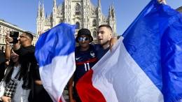 Riesenjubel für Frankreichs Fußballfans