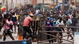 Ausschreitungen erschüttern Senegal