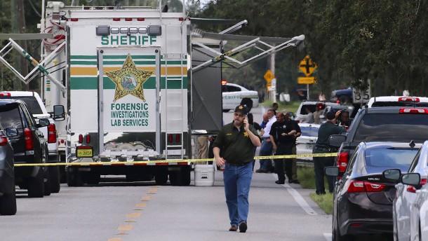 Schütze tötet Baby und drei weitere Menschen in Florida
