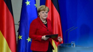 Merkel bietet Trump Zusammenarbeit an