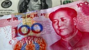 Der Yuan etabliert sich auf Kosten des Euros