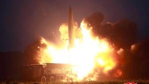 Raketentest als Warnung an Amerika