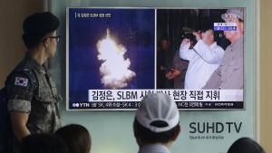 """Nordkorea vermeldet """"erfolgreichen"""" Atomwaffentest"""