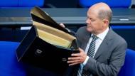 Sucht nach Steuerdaten: Finanzminister Olaf Scholz
