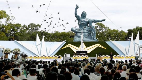 74 Jahre nach Hiroshima und Nagasaki ist Gefahr nicht gebannt